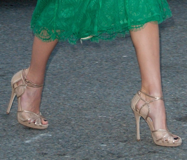 emmy rossum nyfw sept 7 spring 2014 sandals