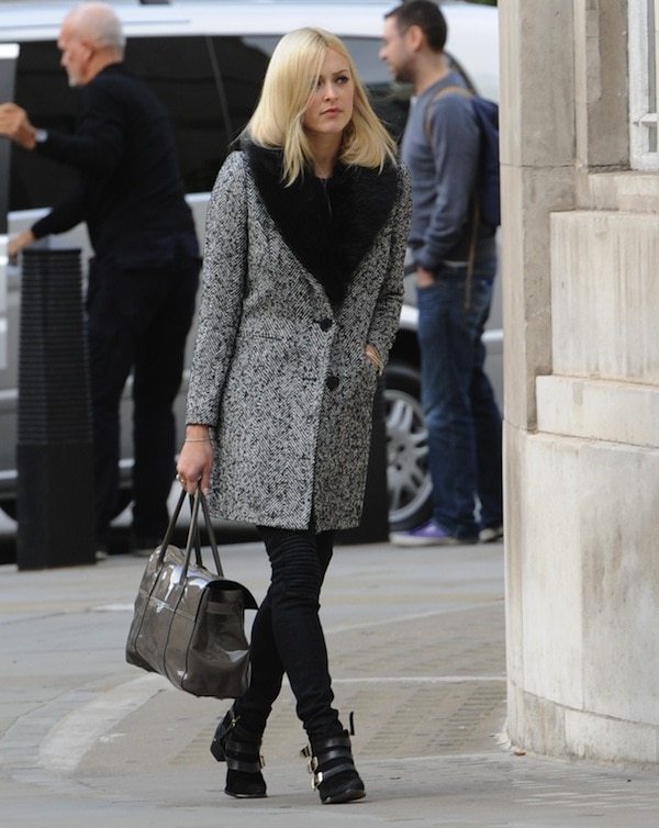 Fearne Cotton at the BBC Radio One Studios