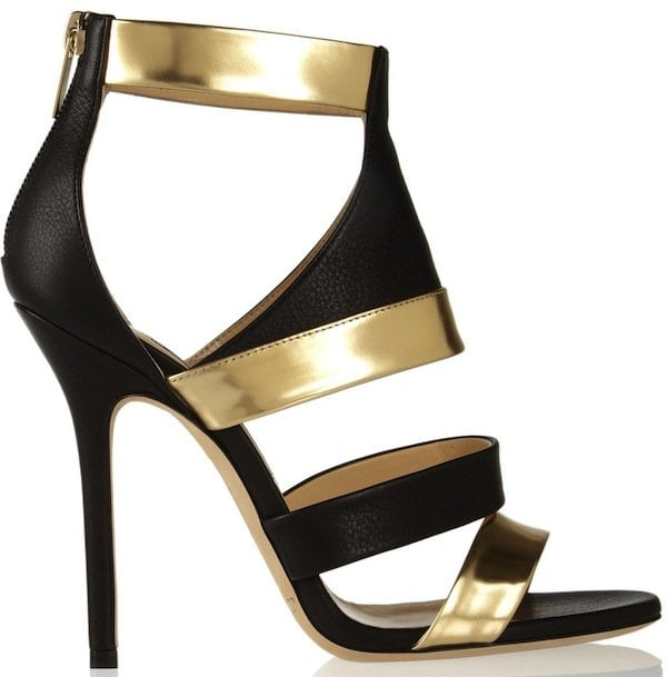 jimmy-choo-black-besso-textured-and-mirroredleather-sandals