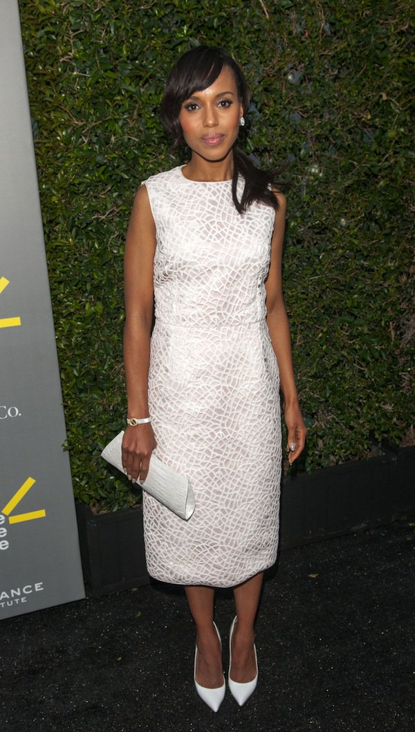 """Kerry Washington at the third annual """"Celebrate Sundance Institute"""" Los Angeles Benefit held at The Lot in West Hollywood, California, on June 5, 2013"""