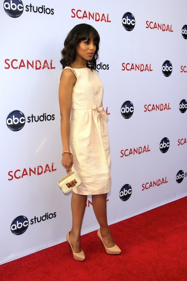 Kerry Washington looking classy and sophisticated at theAcademy of Television Arts & Sciencesevent held at the Leonard H. Goldenson Theater in Los Angeles, California, on May 16, 2013