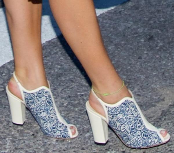 Interesting shoes at Spring 2014 New York Fashion Week