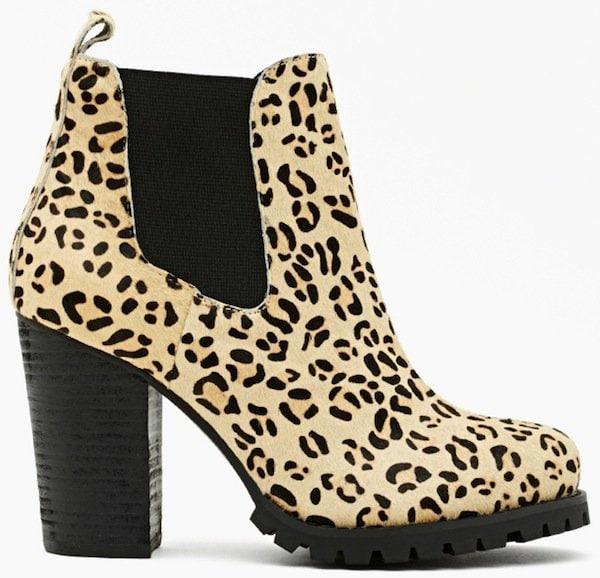 Nasty Gal Black Cat Call Chelsea Boot