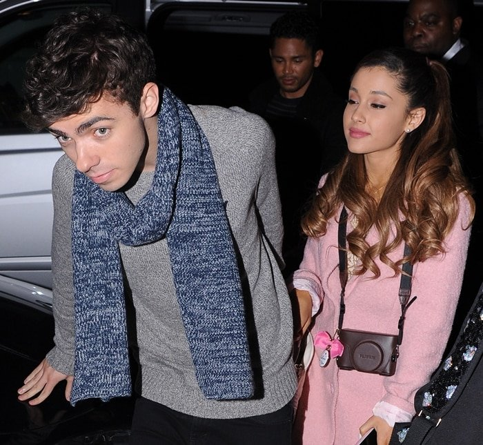 """Nathan Sykes collaborated with Ariana Grande on the song """"Almost Is Never Enough"""" and had a romantic relationship with her for five months in late 2013"""