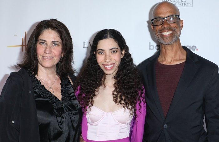 Cameron's sister Maya Boyce and his parents Libby Boyce and Victor Boyce attend the 15th Annual Heller Awards