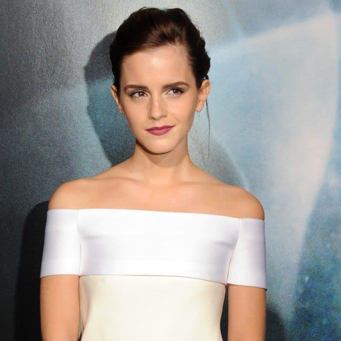 Emma Watson In J. Mendel – 'Gravity' New York Premiere