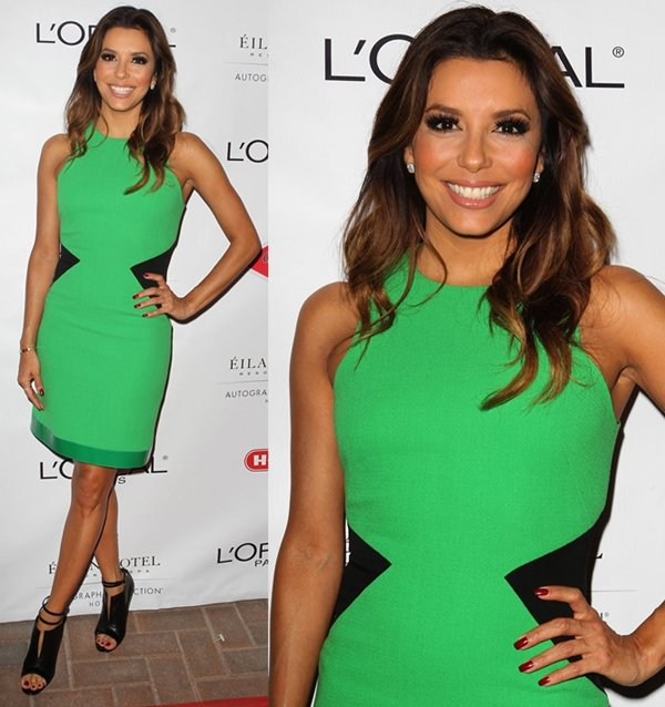 Eva Longoria was smiling from ear to ear thinking about her net worth