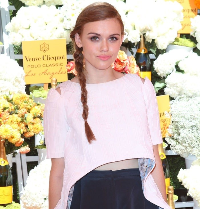 Holland Roden rocksa mullet top by Christian Cota