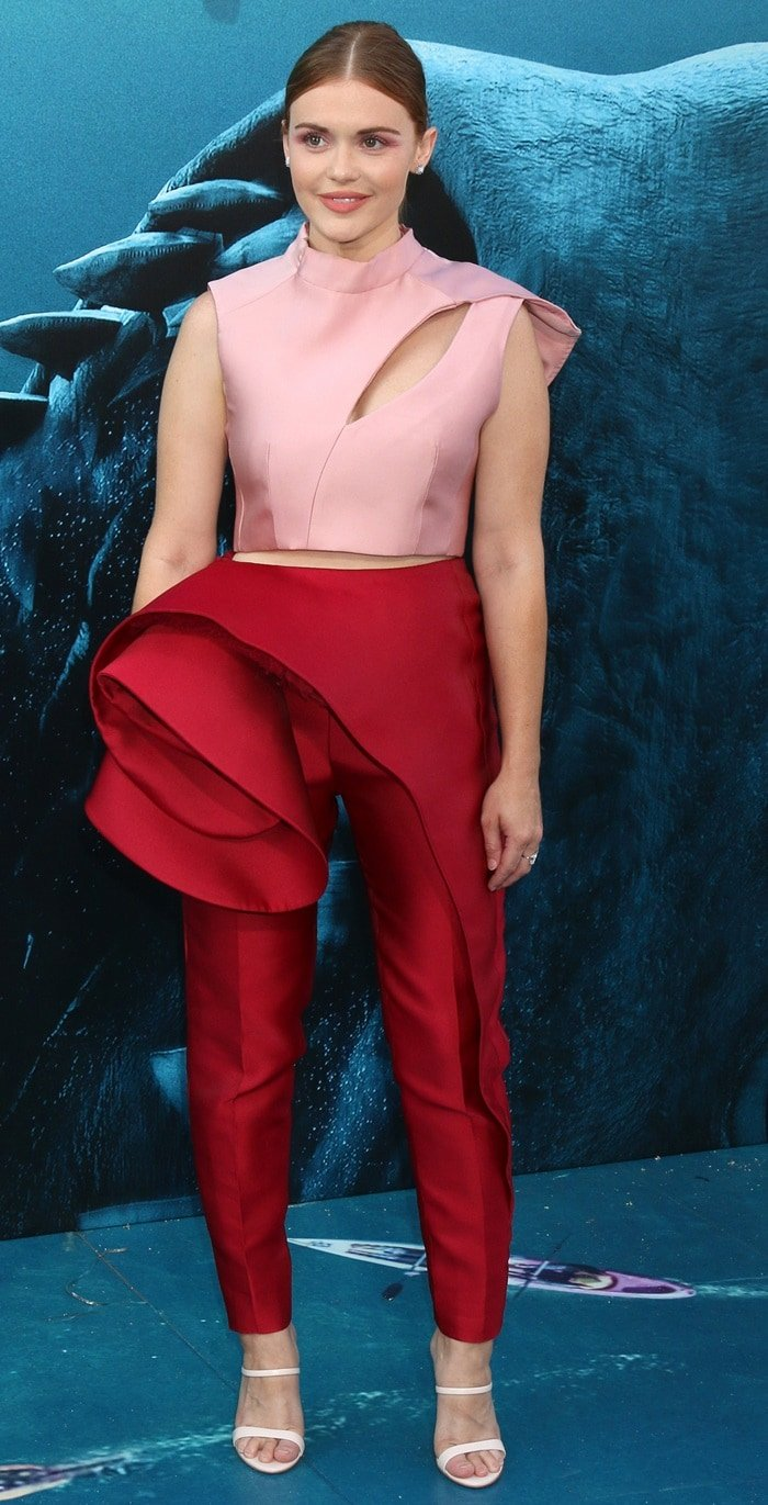 Holland Rodenat the premiere of The Meg held at TCL Chinese Theatre IMAX in Hollywood on August 6, 2018