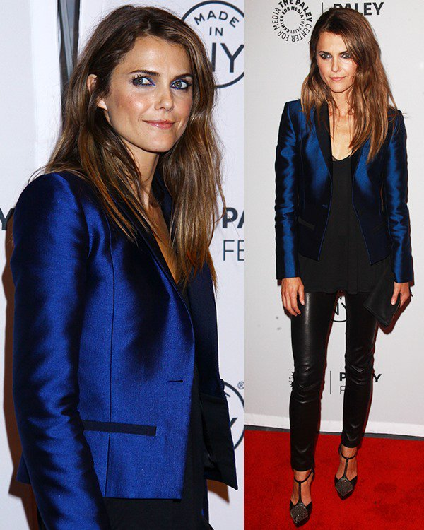 "Keri Russell attends the PaleyFest: Made in NY screening of ""The Americans"""