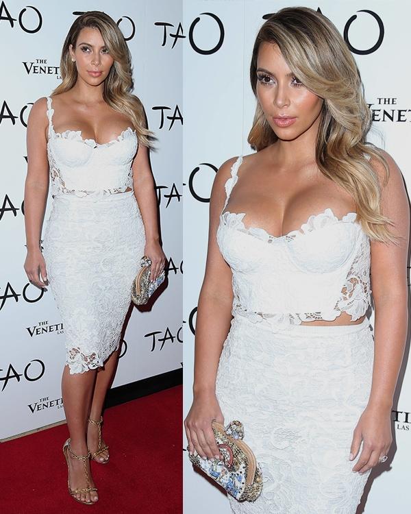 Kim Kardashian celebrates her birthday