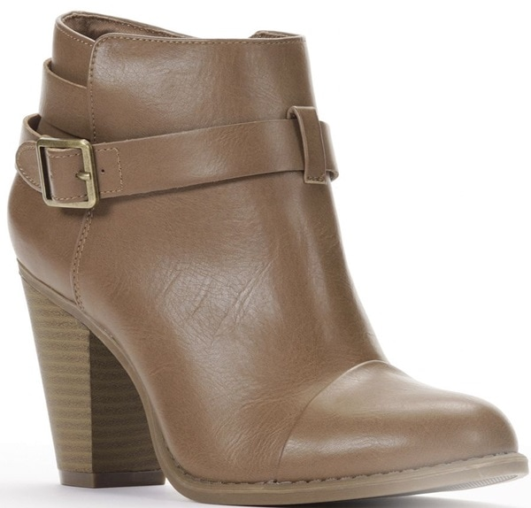 LC Lauren Conrad Ankle Boots in Tan