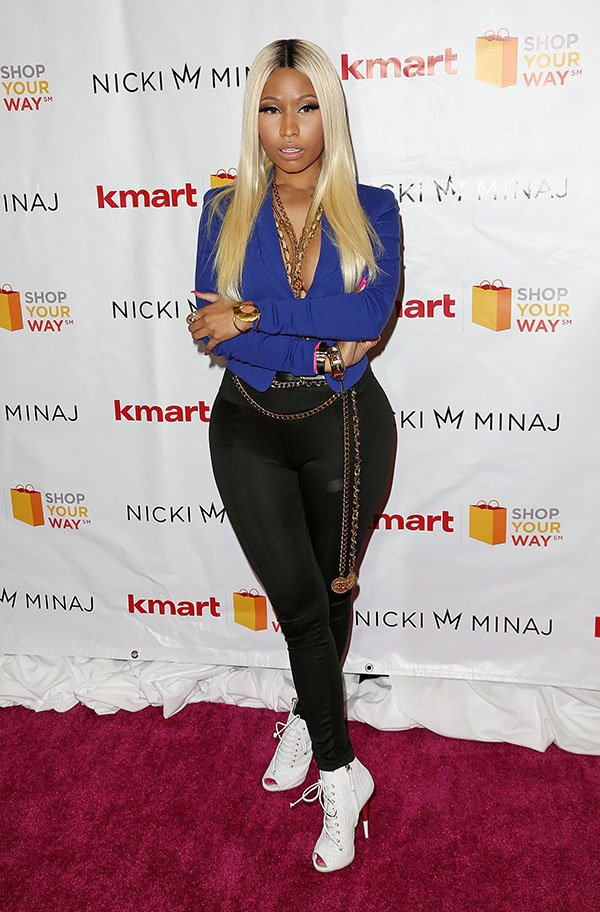 Nicki Minaj at Kmart and Shop Your Way Launch of the Nicki Minaj Collection at Kmart in Los Angeles on October 15, 2013