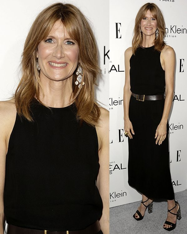 Laura Dern at Elle's 20th Annual Women in Hollywood Celebration at Four Seasons Hotel in Beverly Hills, California, on October 21, 2013