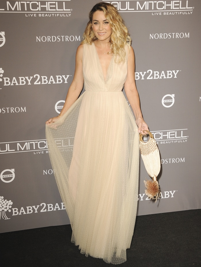 Lauren Conrad attends the 2018 Baby2Baby Gala Presented by Paul Mitchell