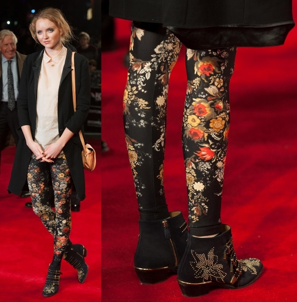 Lily Cole at the premiere of 'Twelve Years A Slave' at the BFI London Film Festival on October 18, 2013