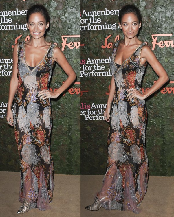 Nicole Richie at the Opening Night Gala of the Wallis Annenberg Center for Performing Arts, Los Angeles, on October 17, 2013