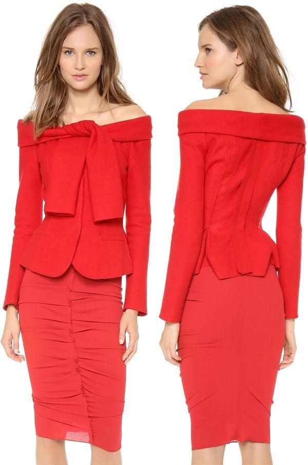 Nina-Ricci-Tie-Shoulder-Wool-Jacket