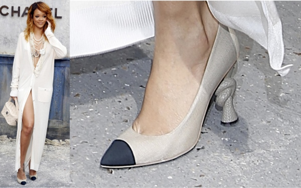 1655354be06 Shoe Sightings at the Chanel Spring 2014 Show