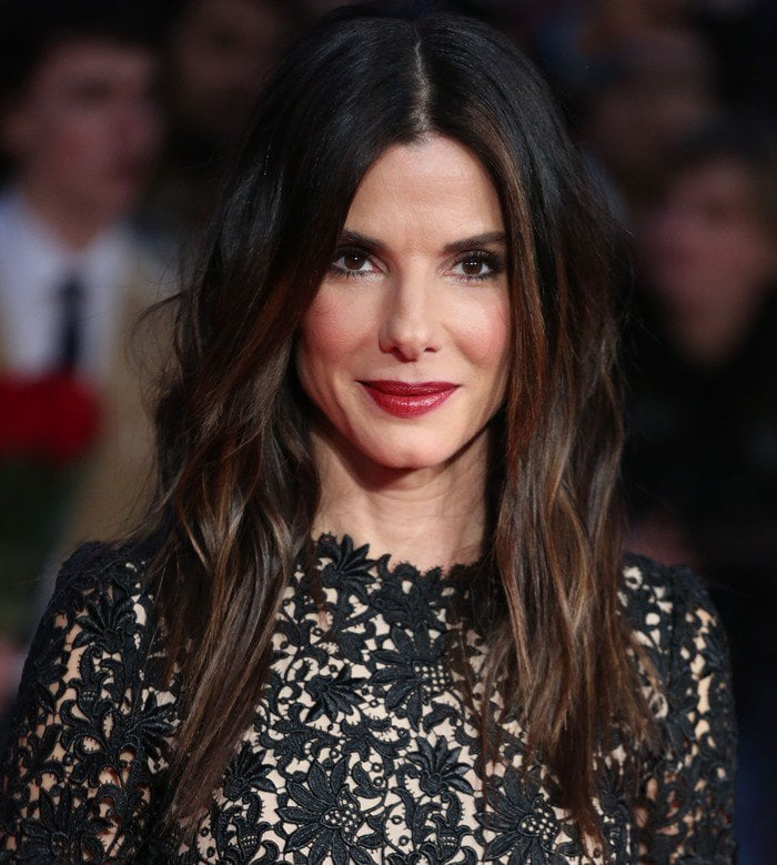 "Sandra Bullock attends the premiere of ""Gravity"" at the BFI London Film Festival"