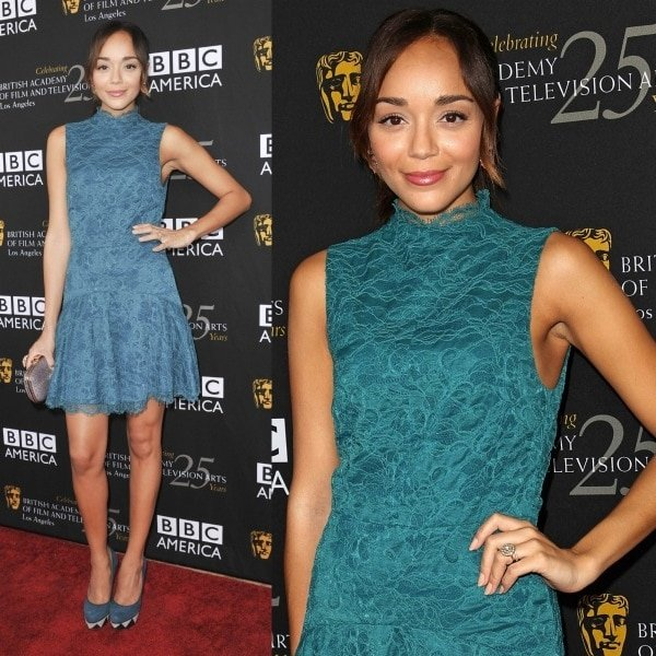 Ashley Madekwe at the 2012 BAFTA Los Angeles TV Tea Party held at The London Hotel in Hollywood, Los Angeles, California, on September 22, 2012