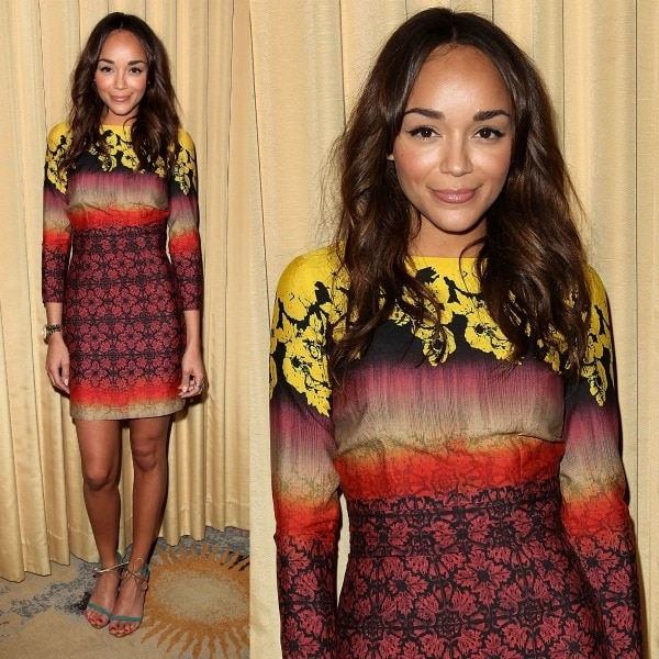 """Ashley Madekwe at the Forevermark and InStyle """"Beauty & Brilliance"""" celebration held at Bar Nineteen 12 in Beverly Hills, California, on January 10, 2012"""
