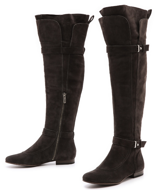 Belle by Sigerson Morrison - Mikalo Flat Over the Knee Boots