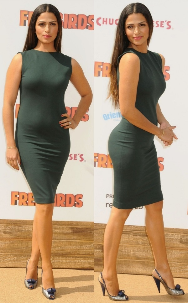 Camila Alves at the premiere of'Free Birds'at the Westwood Village Theatre