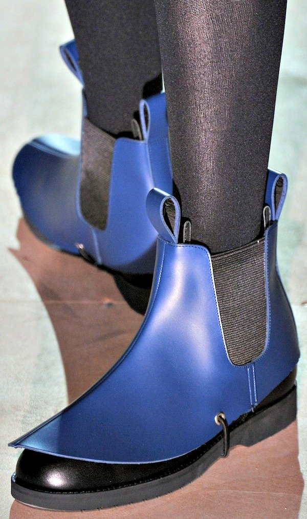Remarkable shoes from the Comme des Garçons Spring/Summer 2014 collection runway show