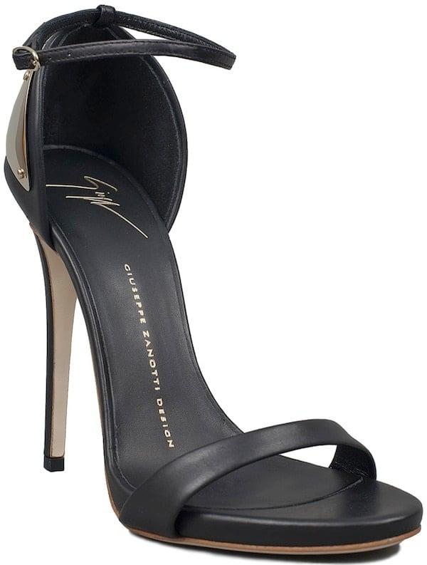 Giuseppe Zanotti Black Stiletto Sandals