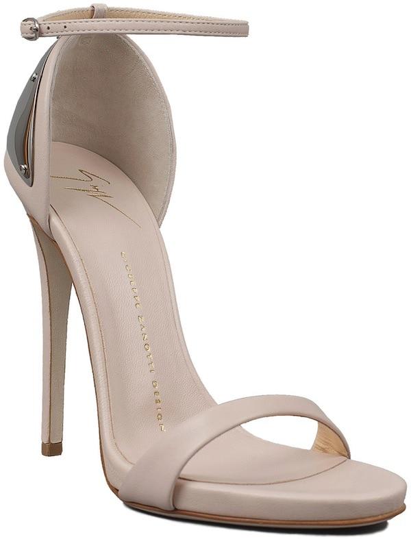 Giuseppe Zanotti Nude Stiletto Sandals