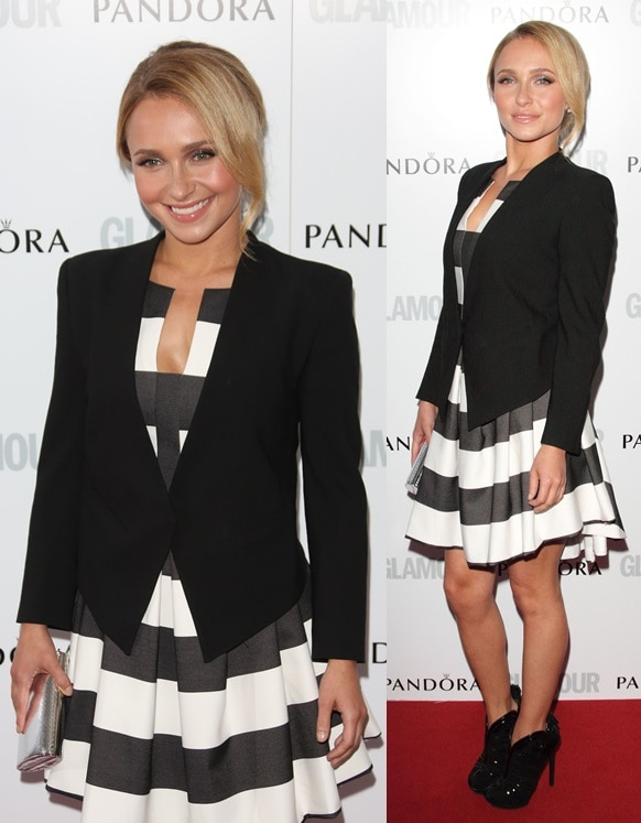 Hayden Panettiere at the Glamour Magazine Women of the Year Awards in London on June 4, 2013
