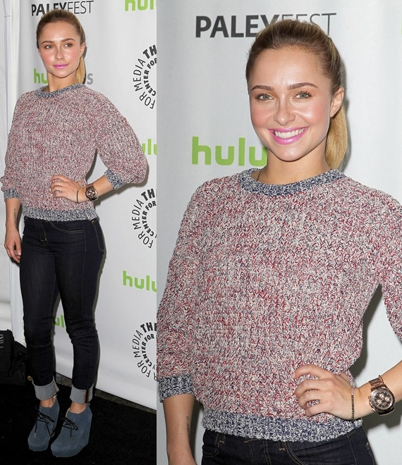 Hayden Panettiere at the 2013 PaleyFest Panel in Beverly Hills, California, on March 9, 2013