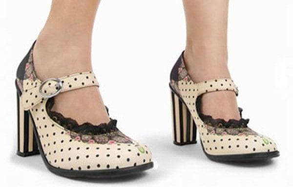 "Double Topping Chocolaticas ""Doris"" Heels"