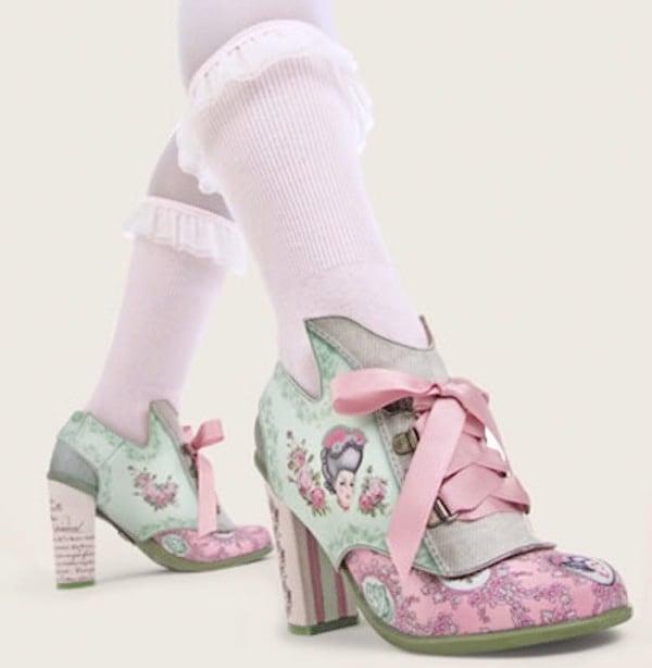 Double Topping Chocolaticas Marie Antoinette Heels
