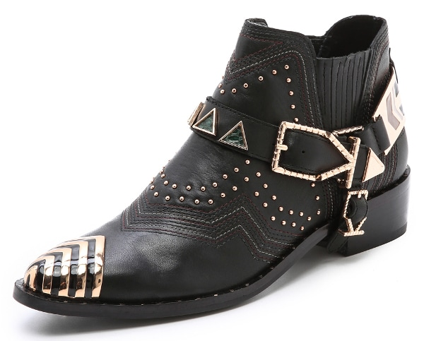Ivy Kirzhner - Santa Fe Embellished Booties