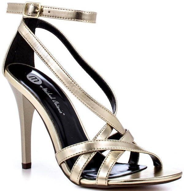 "Michael Antonio ""Jennings"" Metallic Sandals"
