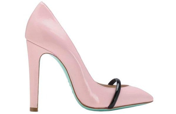 "Ruthie Davis ""Narcissus"" Pumps in Cotton Candy"
