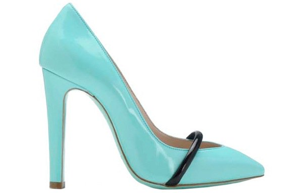 "Ruthie Davis ""Narcissus"" Pumps in Aqua"