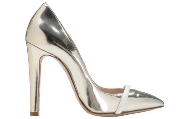 "Ruthie Davis ""Narcissus"" Pumps in Light Gold"