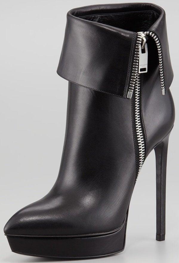Saint Laurent Classic Janis Ankle Boots