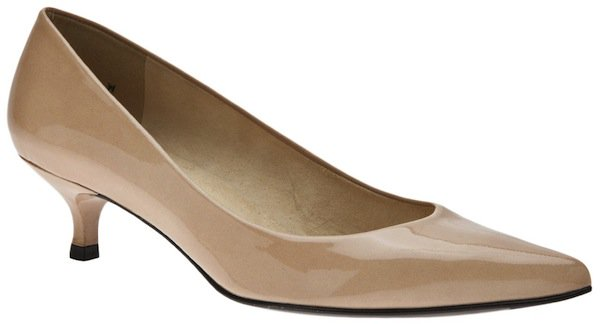 "Stuart Weitzman ""Poco"" Pointed Toe Pump"