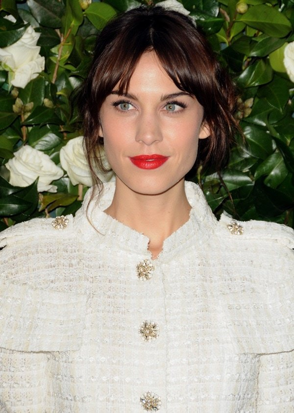 Alexa Chung attends the Museum of Modern Art 2013 Film benefit - A Tribute To Tilda Swinton on November 5, 2013, in New York City