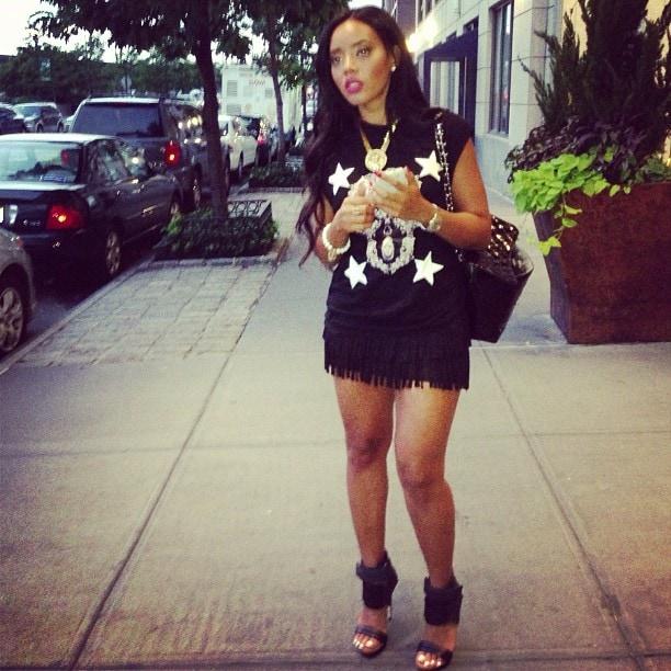 Angela Simmons MIA Rocco Sandals 6