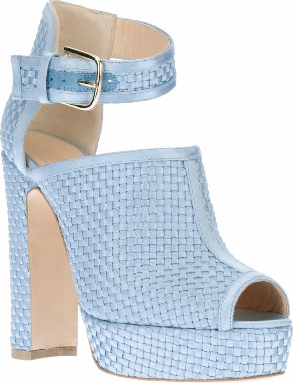 "Blue Bionda Castana ""Christa"" Sandals"