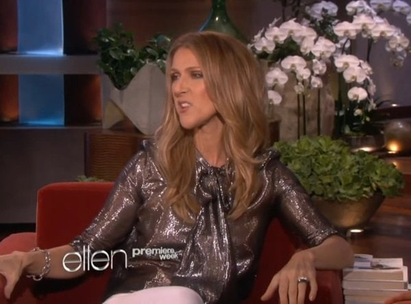 Celine Dion bragged about having over 3000 pairs of shoes