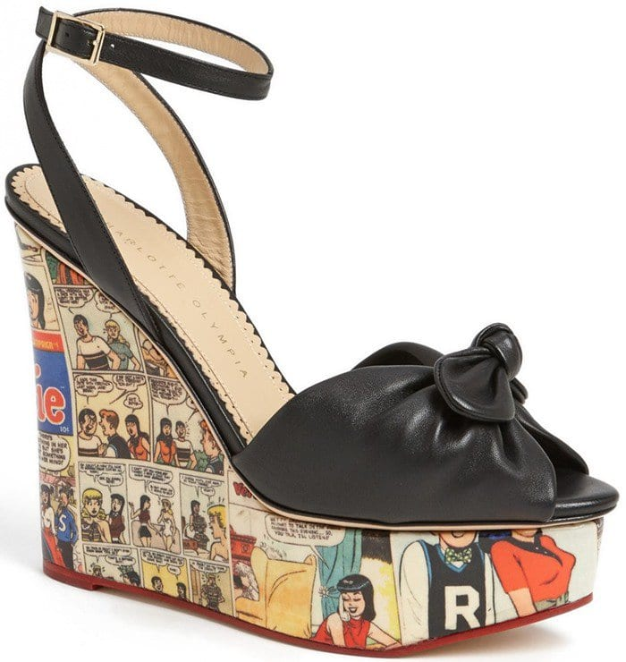 Charlotte Olympia 'Archie' Wedge Sandal