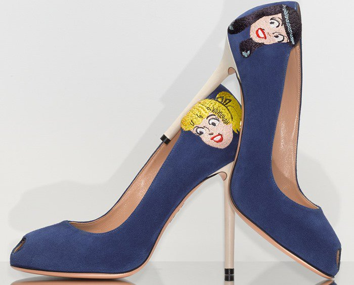 Charlotte Olympia 'Betty & Veronica' Pump