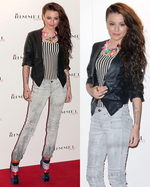 Cher Lloyd Rimmel London party