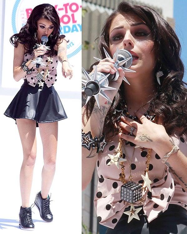 Cher Lloyd Teen Vogue Back-To-School Event